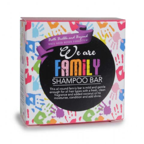 WE ARE FAMILY Green Fresh Mild Gentle Hair Shampoo Bars - Bath Bubble & Beyond 50g